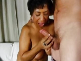 creamed Granny and drilled BBW Ebony