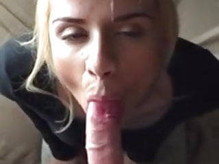 Bleach Blonde Amateur Blowjobber