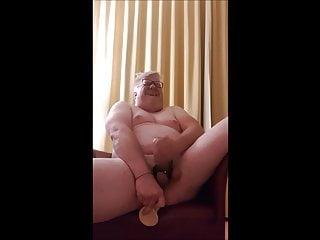 Fat fag jens fucking his ass till he...