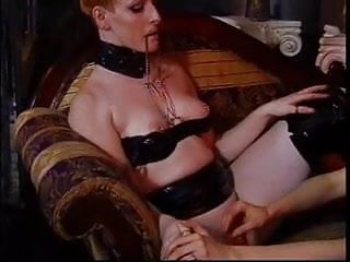 Mature Lesbos Spank in Nylons