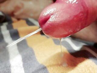 Close-up cumshot
