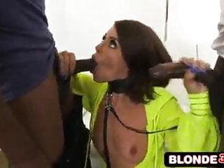 Anal slut adriana chechik likes her cocks rough...