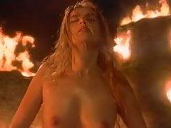 Emmanuelle Seigner rides a dick