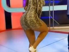Sexy Latina dancing