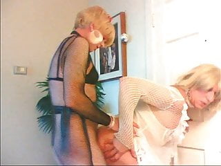 sissy bitch wendy jane fucks cyndee in the ass
