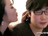 sexy Korean teacher educates about sex