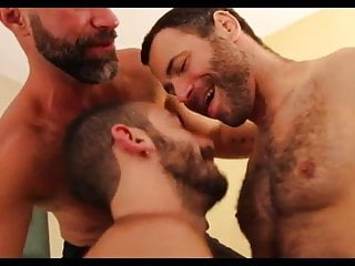 hairy males threesome