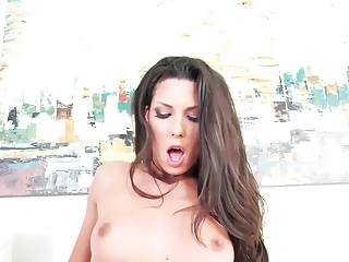 Alexa Tomas satisfying big hard donger