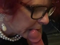 Mature Sucking Well On Big Cock