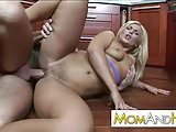 milf Janet Clarke fucked in kitchen