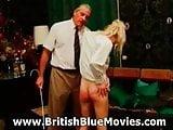 Retro British Spanking with David Charles
