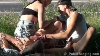 Public sex Real BUMs are having sex in public street PART 2