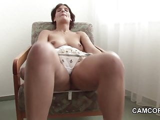 46yr old german mom in first time...