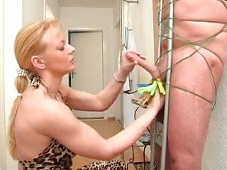 Amateur Blonde Mature Handjob