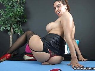 Big cuban ass butt cheeks femdom...