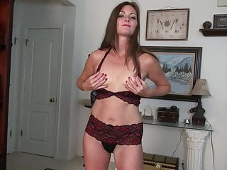 Amateur mother with small tits and big pussy lips
