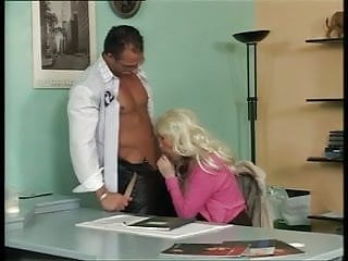 Busty german mature office...