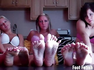 Hottest Foot Fetish Threesome