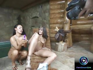 Lovely lesbians having fun on their scenes...