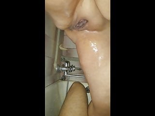 Mature dominant moms piss on stepson after sex...