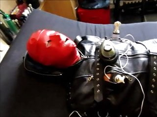 Extreme electric cock ball amp breast torture...