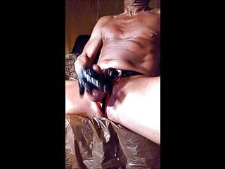 Shaved Cum Cock Small Oily