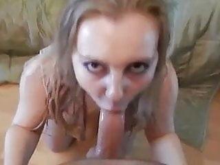 Blonde Blowjob Milf video: POV ATM & SWallow