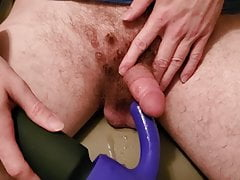 Using Sweet Spot Magic Hitachi Attachment On My Cock