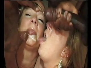 French mature n49b anal in interracial party sex...