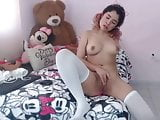 Sexy little girl on webcam Pinkypie