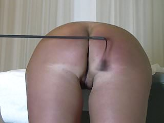 spanking ass of private slave