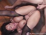 Hot Asian Babe Gets Double Penetrated