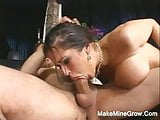 Big Tits Babe Do A Tit Fucking And Fucked In The Ass