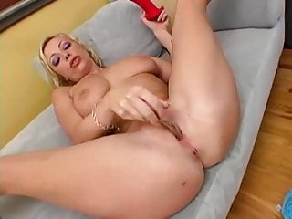 Adrianna Hot Dildo Action