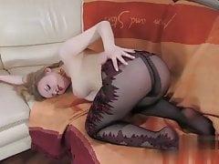 Bonnie B in pantyhose