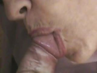 cock licking & cumshot within the mouth direct