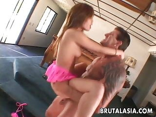 Butt asian pornstar hard...
