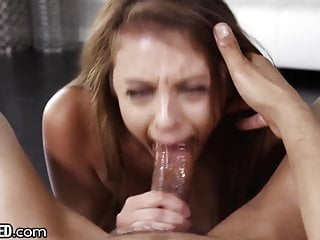 THROATED Gia Derza BRUTAL FACEFUCK & Titfuck w Johnny Sins!