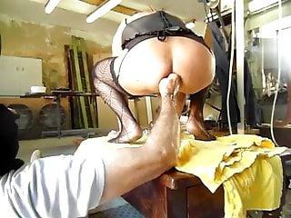 The sissy enogar sit on her master 039...