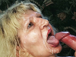 Ugly 84 year old mom gets fucked by a big dick