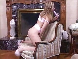 Fingering and toying chair...