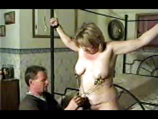 Holly bbw milf wife complains while tied...