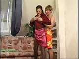 Russian Mom seduces son -Helena