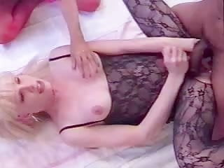 Guy in burning with shemale fucks girl