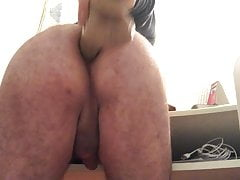 I open my ass with a big dildo