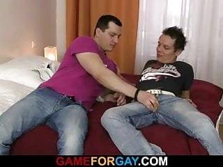 Seducing hetero dude...