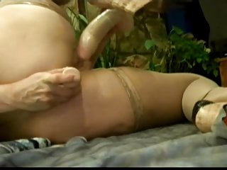 Mature candy Hot treesome with BBC
