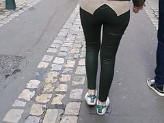 shiny candid ass