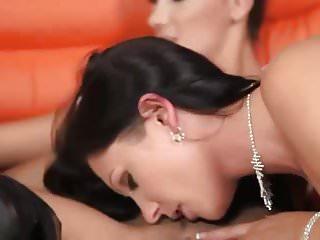 Lesbian oil orgy...