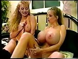 Wendy Whoppers threesome with dildo